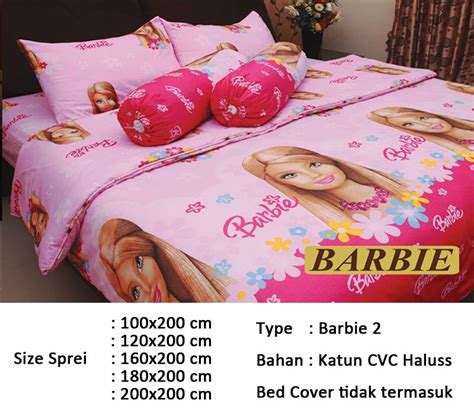 Penambahan Bed Cover sprei aneka motif kid edition bahan cvc haluss