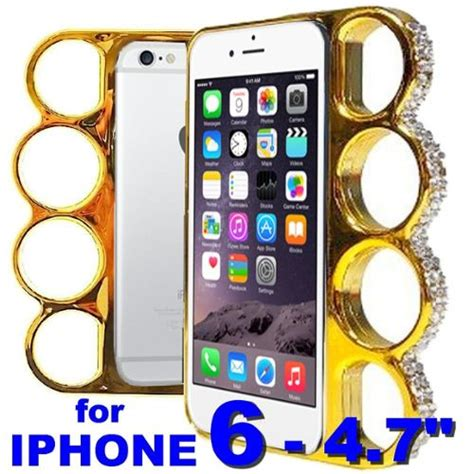 Fashion For Iphone 6g 6s Promo iphone 6 4 7 quot coque poing am 233 ricain dor 233 e or strass