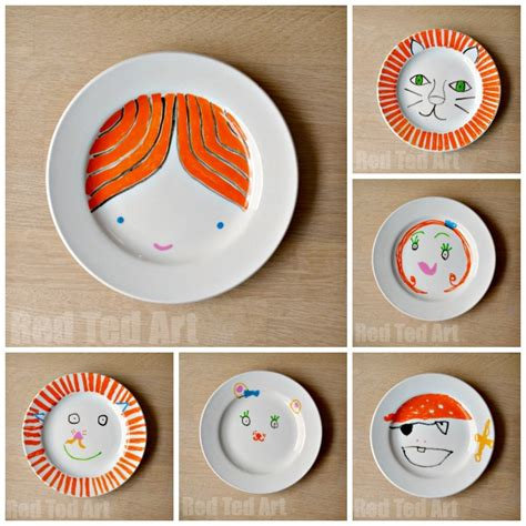 to make with children gifts can make plates ted s