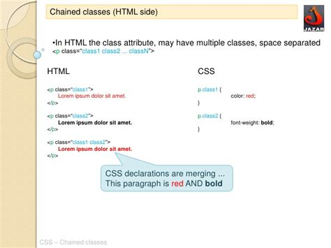 css layout classes css chained classes