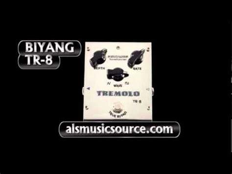 Biyang Effect Pedal Gitar Ph 8silver biyang tr 8 tremolo guitar pedal mp3 jumiliankidzmusic