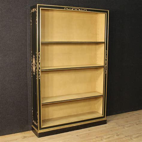 libreria italiana libreria italiana laccata e dorata xx secolo