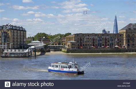 view of a thames clipper leaving canary 169 robert lamb thames clippers ferry leaving canary wharf pier heading