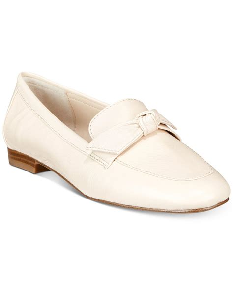 pointed toe loafer flats lyst alfani s cass pointed toe loafer flats save 49