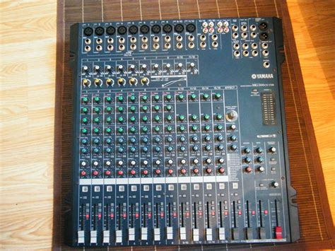Mixer Yamaha Mg166cx Usb yamaha mg166cx usb image 217949 audiofanzine