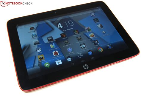 Tablet Hp review hp slate 10 hd 3500eg tablet notebookcheck net reviews