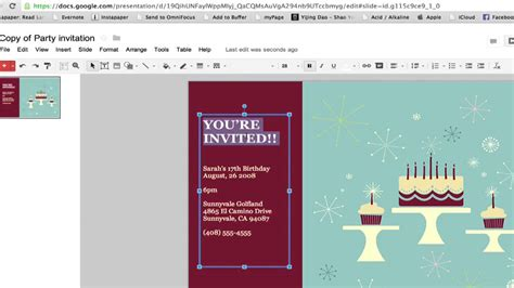 docs templates how to create a invitation in documents