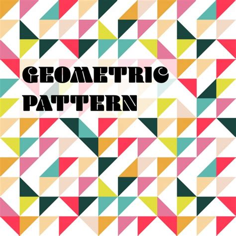 free pattern geometric ai geometric pattern vector free download
