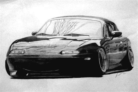 miata drawing my drawing of a miata