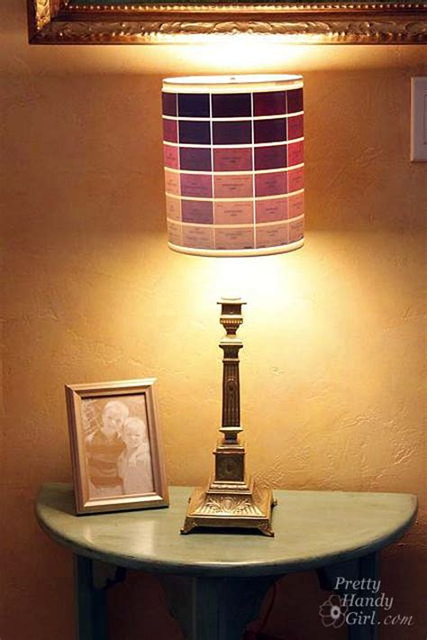 Can You Paint A L Shade by 40 Creatively Cool Diy Ideas With Paint Chips Diy