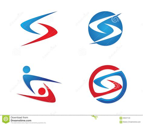 Finance Letter Stock S Letter Finance Logo Stock Vector Image 63537143