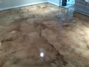 Acrylic Resin Flooring by Custom Concrete Staining Residential Amp Commercial Roofers