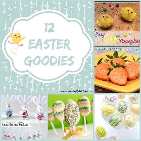The Crafty Kitchen by 12 Easter Goodies Crafty Kitchen