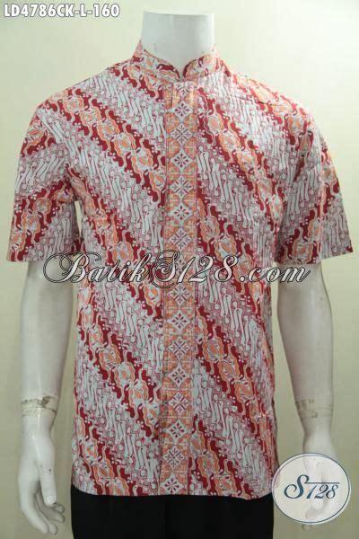 desain baju kerah online kemeja batik parang terbaru desain kerah shanghai baju