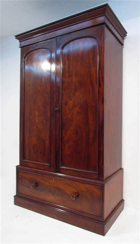 Narrow Armoire Wardrobe An Exceptional Antique And Narrow Mahogany Wardrobe