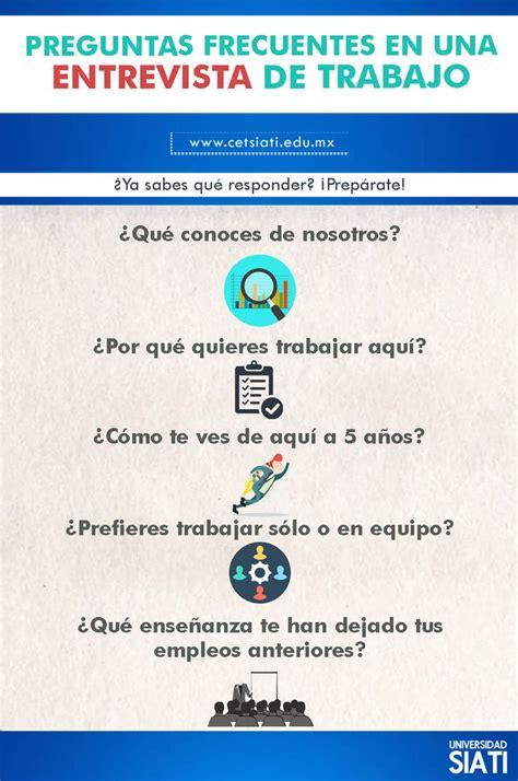 preguntas y respuestas frecuentes en una entrevista de trabajo m 225 s de 25 ideas 250 nicas sobre preguntas entrevista de