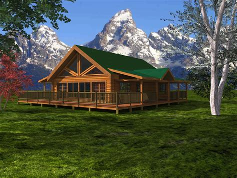 walland pass log home custom timber log homes