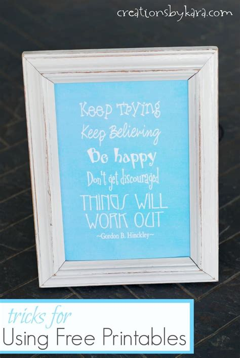 home decor tips and tricks images tips and tricks using free printables in home decor