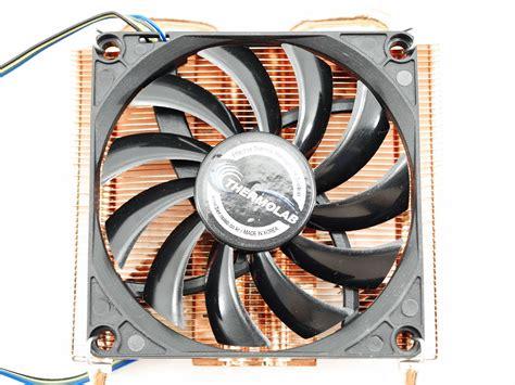 low profile 80mm fan cooltek itx30 low profile cpu cooler review