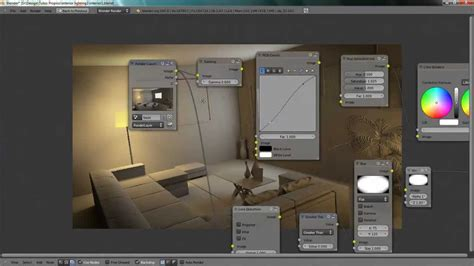 blender tutorial interior lighting lighting a interior scene in blender youtube