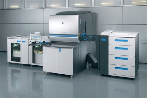Printer Hp Indigo 5500 Thomson Press Print Media Printing Services 7 Colour