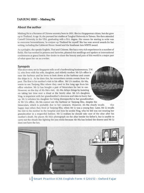 themes tanjung rhu literature literature in english language form 4 tanjung rhu