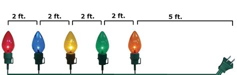 home accents 20 in gaint c7 pathway lights home accents 20 in c7 multi color pathway lights set of 5 c7 5l sta1 m the