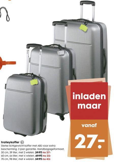 Goedkope Lichtgewicht Koffer by Hema Huismerk Koffer Folder Aanbieding Bij Hema Details