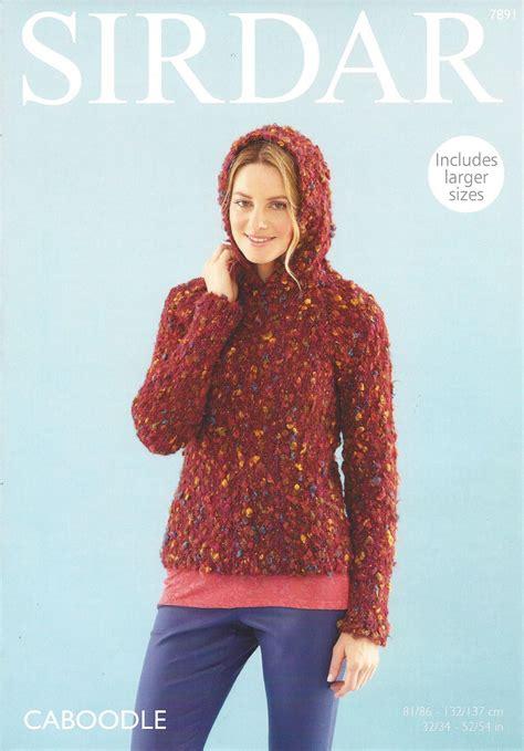 sirdar jumper knitting patterns sirdar caboodle 7891 sweater knitting pattern