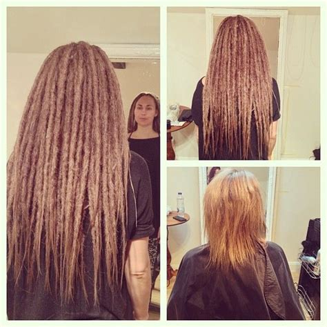 dread extensions short hair before after 17 best images about hairy fairy on pinterest dreads