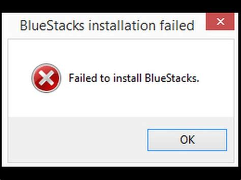 bluestacks update download failed to install bluestacks error fix 2016 youtube