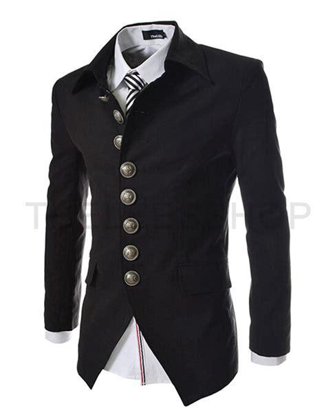 aliexpress buy 2016 new arrival mens blazer jacket multi button design s casual slim