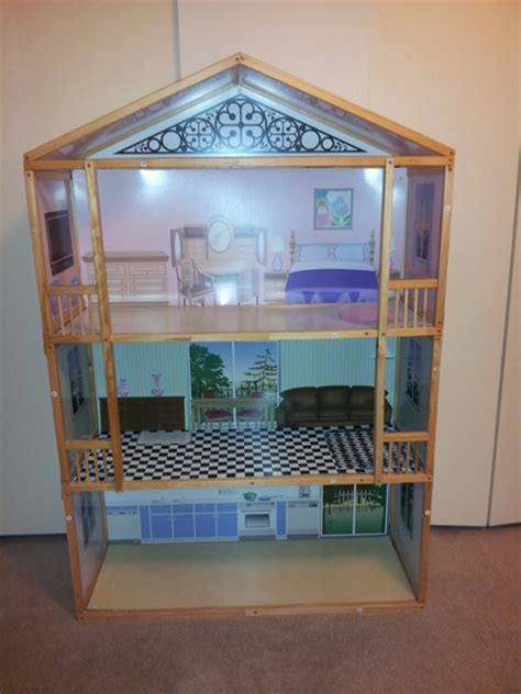 5 foot doll house free 5 ft life size barbie doll house collectible toys listia com auctions for