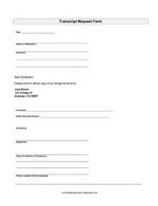 High School Transcript Request Template by Transcript Request Template