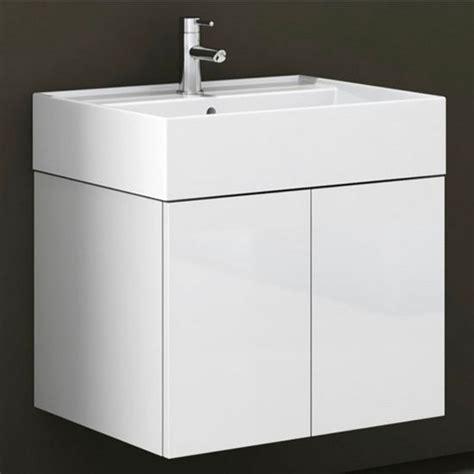 smile sm01 wall mounted single sink bathroom vanity set