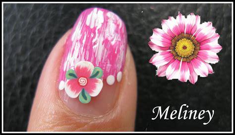 tulip flower nail art youtube summer flower nails fimo nail art design tutorial for