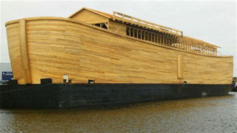 ark bed on boat johan s ark man dreams of apocalypse builds functional