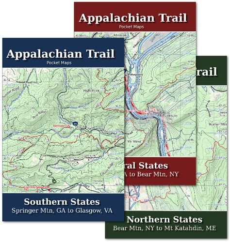 Appalachian Trail Section Maps by Appalachian Trail Maps