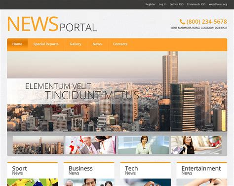 news portal responsive wordpress theme 47781 top 15 news magazine wordpress themes designwall