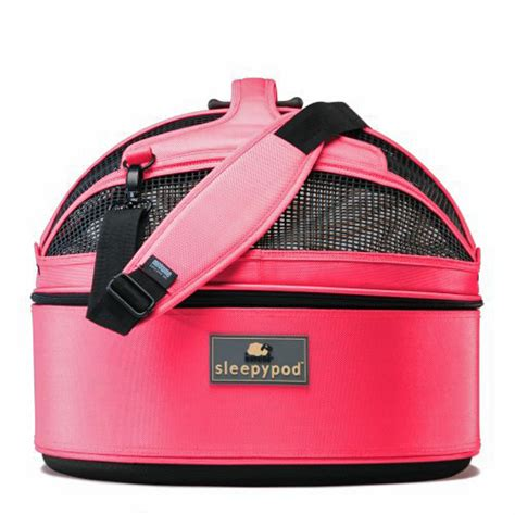 sleepypod mobile pet bed sleepypod mobile pet carrier bed blossom pink baxterboo