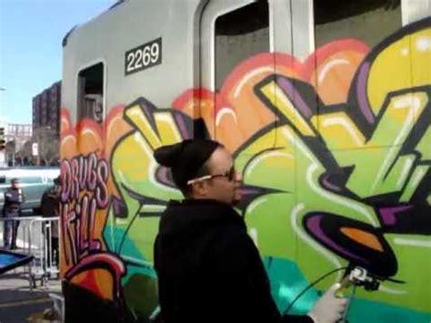 graffiti artists   world party  nyc