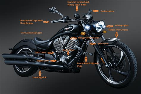 motorbike accessories victory gallery victory only custom motorcycle accessories