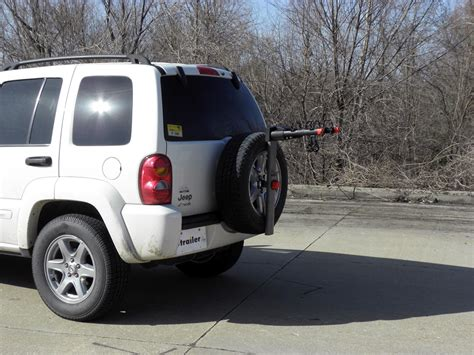 Jeep Spare Tire Jeep Liberty Yakima Sparetime 2 Bike Carrier Spare Tire