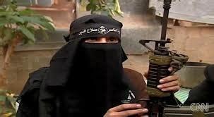 pejuang wanita  gaza