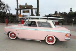 vintage surf car 1963 amc rambler vintage pink custom surf car from estate