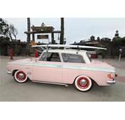 1963 AMC RAMBLER VINTAGE PINK CUSTOM SURF CAR FROM ESTATE