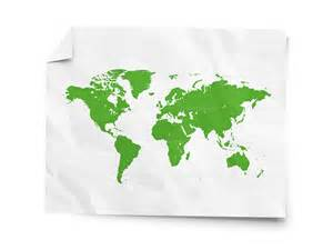 Paper World Map by Mmamaster Blog