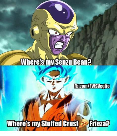Frieza Memes - wheres my senzu bean ftcomfwsvegito where s my stuffed