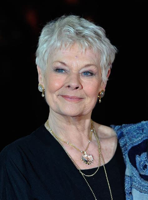 judith dench haircut 990 best judi dench images on pinterest grey hair judi