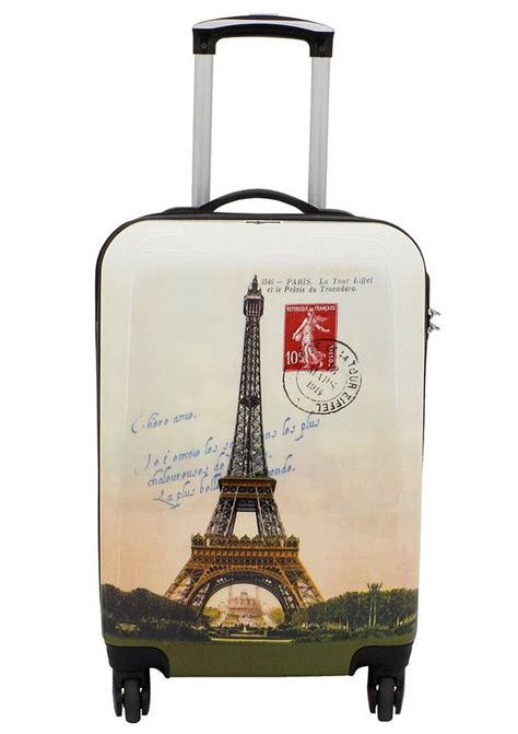 hartschalen trolley mit  rollen paris otto